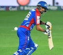 Babar Azam chops one down to third man, Karachi Kings v Quetta Gladiators, PSL 2018, Dubai, March 8, 2018