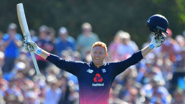 Jonny Bairstow scored England's third-fastest one-day hundred