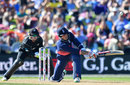 Alex Hales anchored the innings with a fifty, New Zealand v England, 5th ODI, Christchurch, March 10, 2018