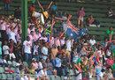 The Port Elizabeth brass band in full flow , South Africa v Australia, 2nd Test, 2nd day, Port Elizabeth, March 10, 2018