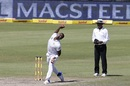Lungi Ngidi sends one down, South Africa v Australia, 2nd Test, 3rd day, Port Elizabeth, March 11, 2018