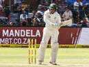 Usman Khawaja targets the leg side South Africa v Australia, 2nd Test, 3rd day, Port Elizabeth