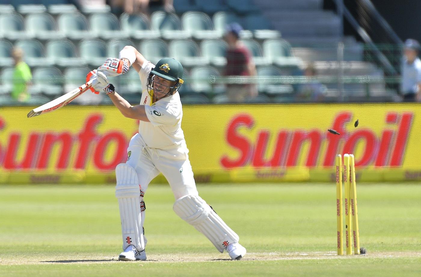 Against Warner in Port Elizabeth: