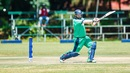 Paul Stirling flays the ball behind point, Ireland v UAE, World Cup Qualifier 2018, Harare, March 12, 2018