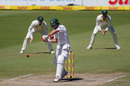AB de Villiers on the verge of executing a pull, South Africa v Australia, 2nd Test, 4th day, Port Elizabeth, March 12, 2018