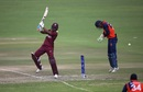 Evin Lewis blasted 84 to set up West Indies' tall score, West Indies v Netherlands, World Cup Qualifier, March 12, 2018