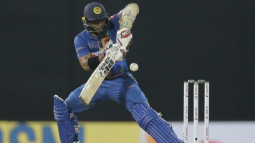 Kusal Mendis shows off his range