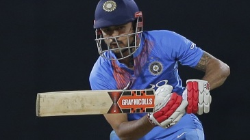 Manish Pandey punches down the ground