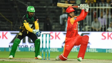 Alex Hales made 46 on his return to the PSL