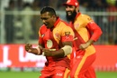 Samit Patel struck twice in the first over, Islamabad United v Multan Sultans, PSL 2018, Sharjah, March 13, 2018