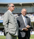 Giles Clarke and Colin Graves at Lord's during the first Test against New Zealand in 2015, England v New Zealand, May 20, 2015