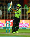 Fakhar Zaman plays a pull shot, Quetta Gladiators v Lahore Qalandars, PSL 2018, Sharjah, 14 March, 2018