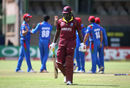 Chris Gayle was foxed by Mujeeb Ur Rahman's googly, West Indies v Afghanistan, World Cup Qualifiers, Super Six stage, March 15, 2018