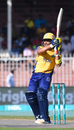 Kamran Akmal swivels into a hook, Peshawar Zalmi v Karachi Kings, Pakistan Super League 2017-18, Sharjah