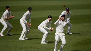 James Vince spilled a chance in the gully