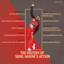 A history of Sunil Narine's action, March 16, 2018
