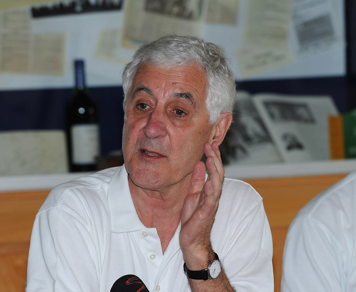 Mike Brearley's (left) latest book is about cricket - and much more