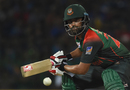 Tamim Iqbal steers one towards third man, Sri Lanka v Bangladesh, 6th match, Colombo, March 16, 2018