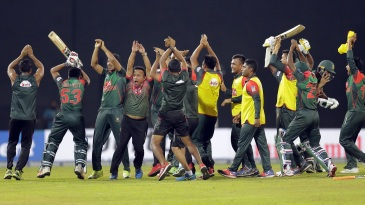 Bangladesh provided another glimpse of their newfound celebration