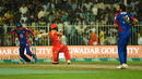 Misbah Ul Haq is castled by Shahid Afridi, Karachi Kings v Islamabad United, PSL, March 16, 2018