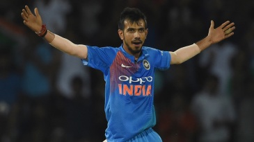 Yuzvendra Chahal took two wickets in one over