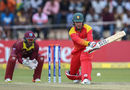 Brendan Taylor attempts to reverse paddle Devendra Bishoo, Zimbabwe v West Indies, World Cup Qualifiers, Harare, March 19, 2018