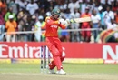Sean Williams shapes up to pull one, Zimbabwe v West Indies, World Cup Qualifiers, Harare, March 19, 2018