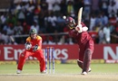 Marlon Samuels compiled a well-paced half-century, Zimbabwe v West Indies, World Cup Qualifiers, Harare, March 19, 2018