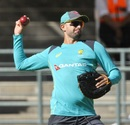 Nathan Lyon during training at Newlands, South Africa v Australia, Cape Town, March 19, 2018