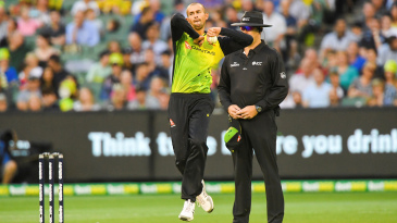 Ashton Agar in action for Australia