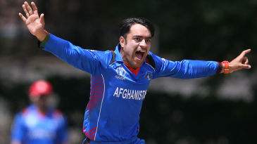 Rashid Khan ripped through UAE's lower order