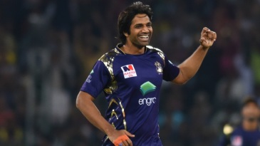 Rahat Ali took four wickets in the eliminator
