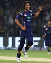 Rahat Ali took four wickets in the eliminator, Peshawar Zalmi v Quetta Gladiators, eliminator 1, PSL 2018, Lahore, March 20, 2018