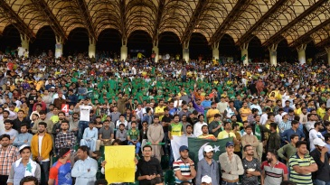 The fans turned in up large numbers in Lahore