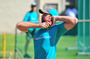 Jon Holland trains during an Australia nets session, South Africa v Australia, Cape Town, March 20, 2018