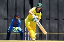 Beth Mooney scored a 32-ball 45, India v Australia, Tri-Nation Women's T20 Series, Mumbai, March 22, 2018