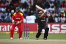 Rameez Shahzad crunches a drive, Zimbabwe v UAE, World Cup qualifier, Super Sixes, Harare, March 22, 2018