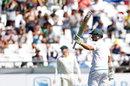 Dean Elgar raised his half-century, South Africa v Australia, 3rd Test, Cape Town, 1st day, March 22, 2018