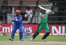 Andy Balbirnie punches off the back foot, Ireland v Afghanistan, World Cup Qualifiers, Harare, 23 March, 2018