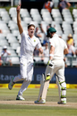 Morne Morkel removed Steven Smith in the third over after lunch, South Africa v Australia, 3rd Test, Cape Town, 2nd day, March 23, 2018
