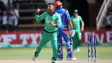 Simi Singh celebrates a wicket