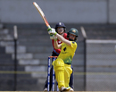 Rachael Haynes goes after the ball, England v Australia, Tri-Nation Women's T20 Series, Mumbai, March 23, 2018