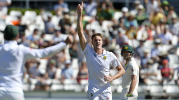 Morne Morkel claimed his 300th Test wicket