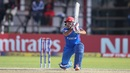 Asghar Stanikzai drives over the off side, Ireland v Afghanistan, World Cup Qualifiers, Harare, 23 March, 2018