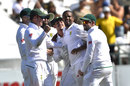 Vernon Philander pinned Cameron Bancroft lbw, South Africa v Australia, 3rd Test, Cape Town, 2nd day, March 23, 2018