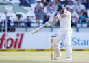 Tim Paine resisted as wickets fell, South Africa v Australia, 3rd Test, Cape Town, 2nd day, March 23, 2018