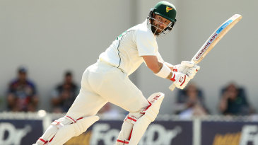 Matthew Wade plays a flick during his half-century