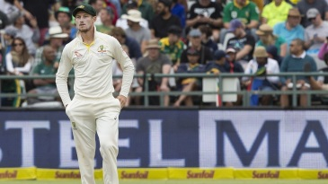 Cameron Bancroft's actions were under scrutiny on the third day