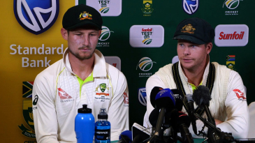 Cameron Bancroft and Steven Smith own up to ball-tampering