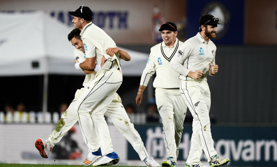 In Auckland in 2018, Boult and Tim Southee took 14 of the 20 England wickets that fell in the course of a massive innings victory